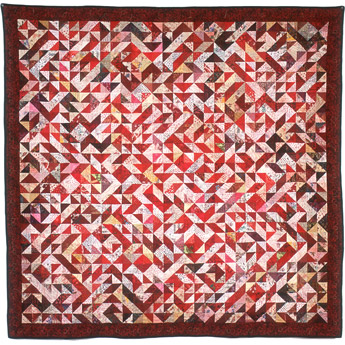 Red Cone Quilt